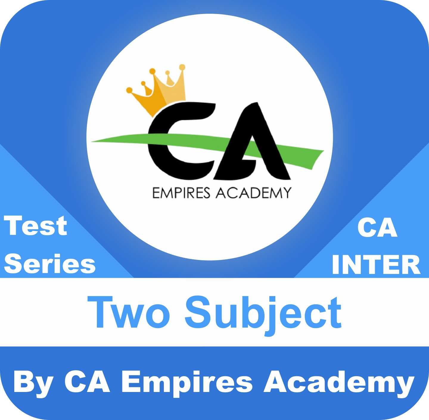Any 2 Subjects Test Series in Bronze Plan